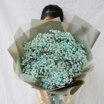 ช่อดอกไม้ ดอกยิปโซ จากร้านดอกไม้ Flowerlab