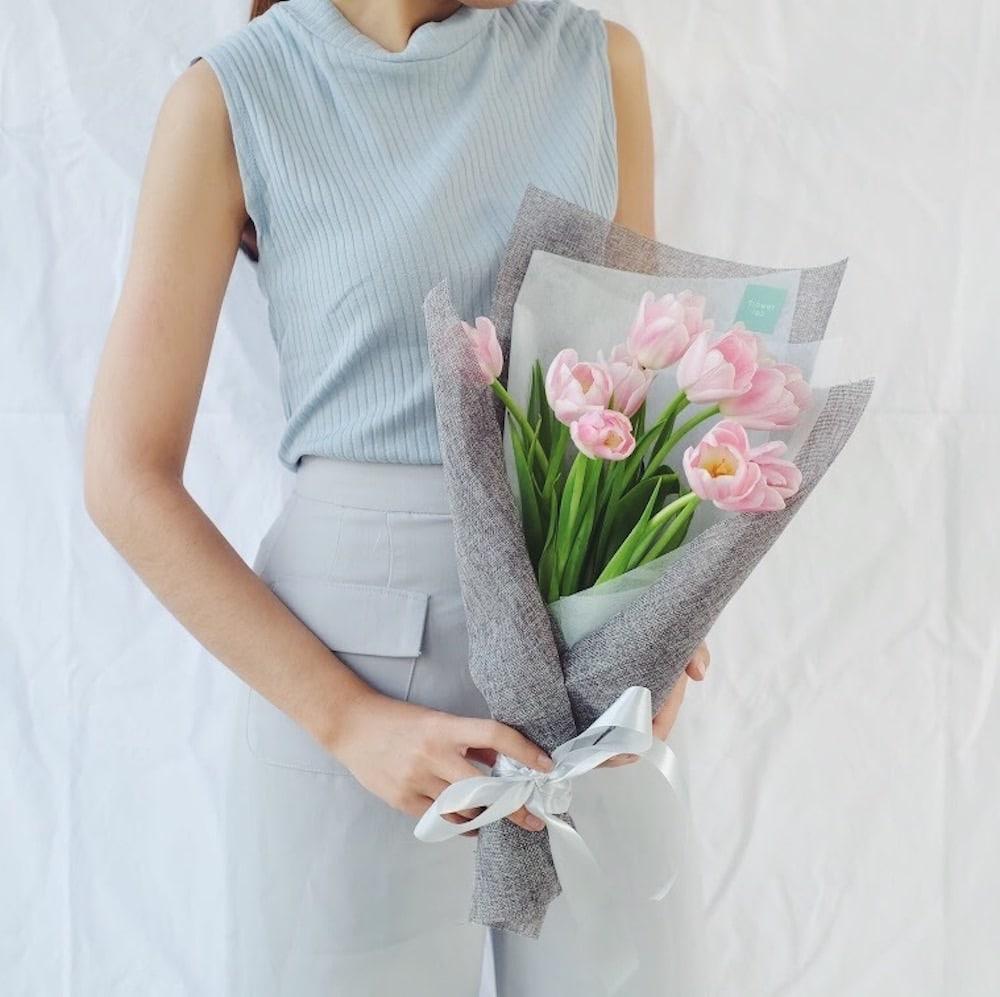 ช่อดอกไม้ - ดอกทิวลิป