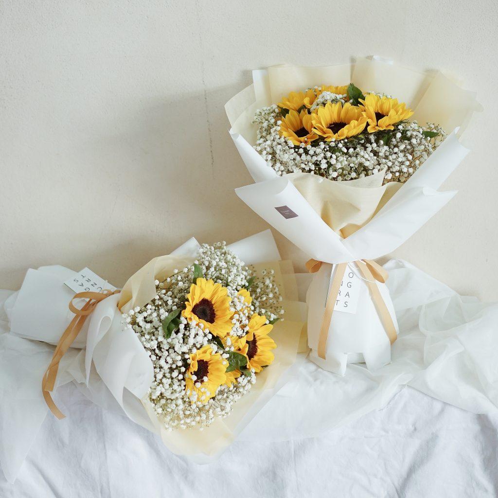 ช่อดอกไม้ - ดอกทานตะวัน